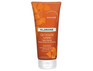 klorane nourishing shower gel soft
