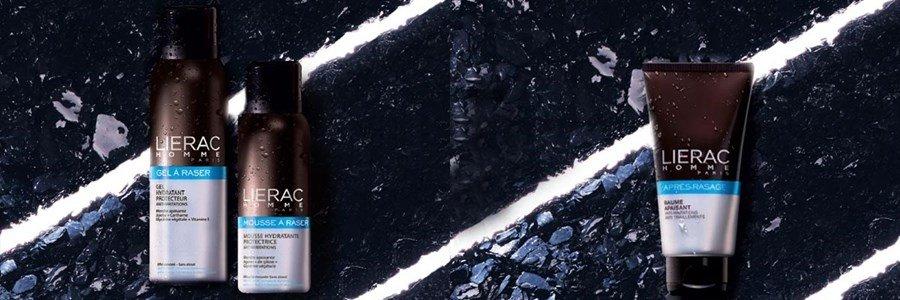 lierac gift set men shaving gel after shave