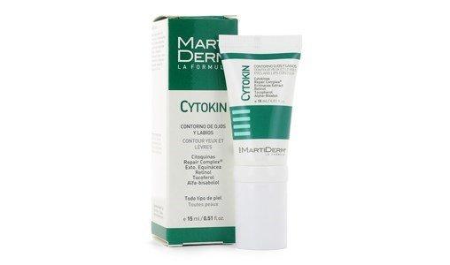 martiderm cytokin gel contorno olhos labios anti papos olheiras rugas