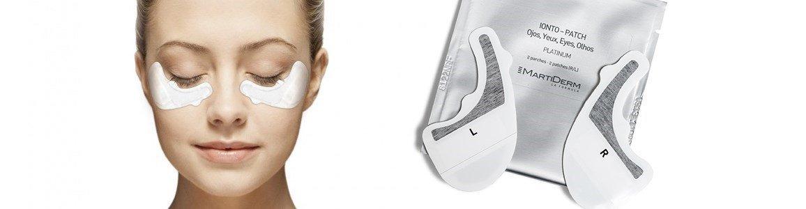 martiderm ionto patch tratamento intensivo rugas contorno olhos