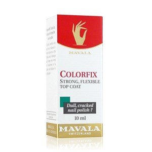 mavala colorfix top coat fixador verniz