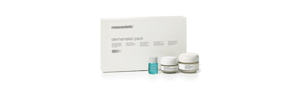 mesoestetic dermamelan pack tratamento