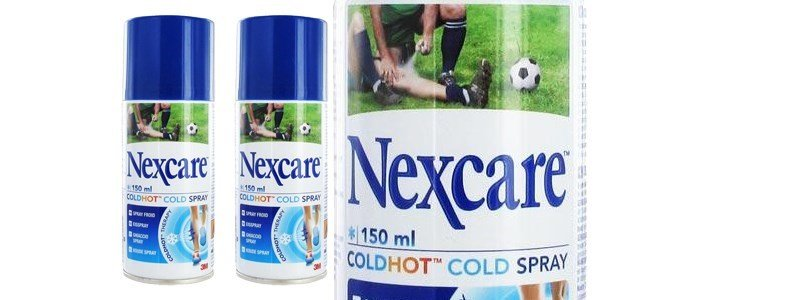 nexcare hot cold spray lesoes musculares