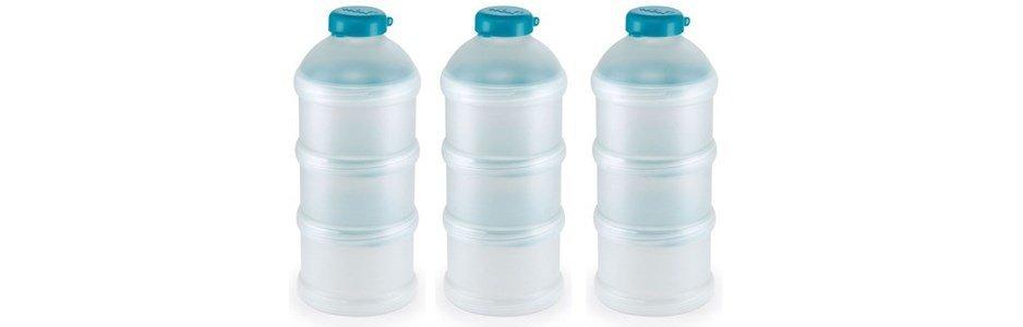 nuk conjunto 3 recipientes leite em po