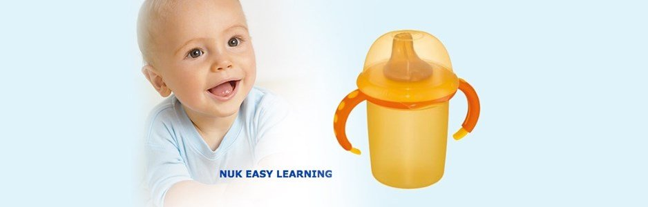 nuk easy learning copo amarelo