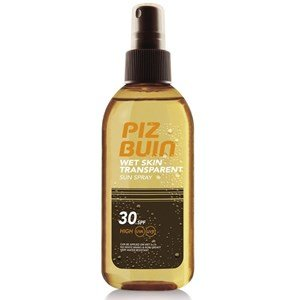 piz buin wet skin spray
