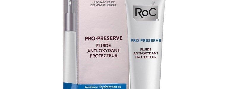roc pro preserve fluido antioxidante