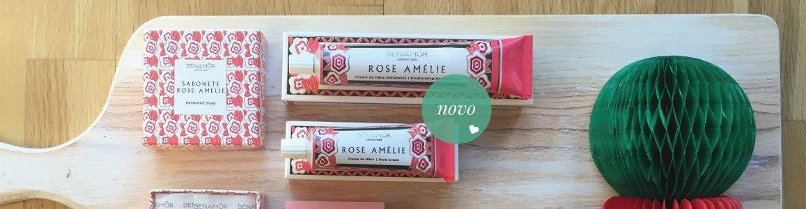 rose amelie creme maos hidratante benamor
