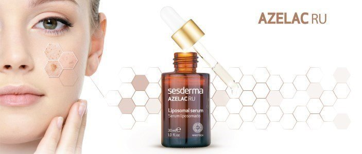 sesderma azelac ru serum lipossomal despigmentante peles manchas en