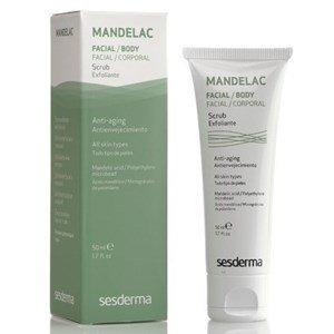 sesderma mandelac scrub esfoliante pele fotoenvelhecida manchas