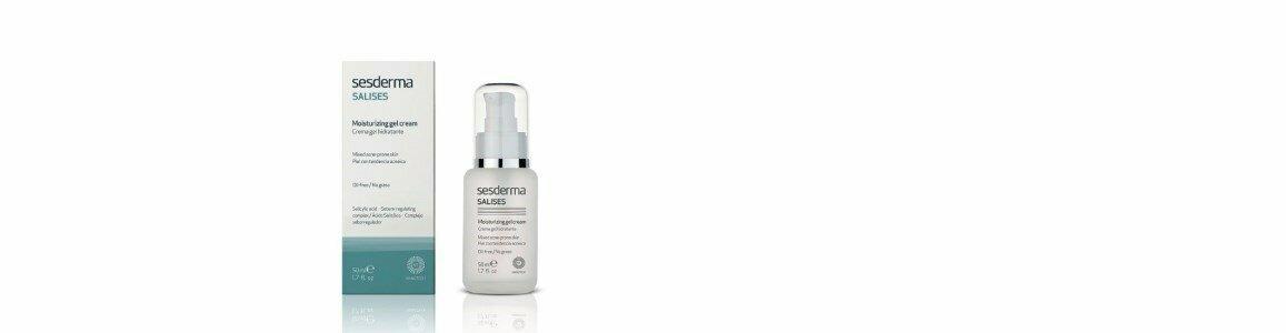 sesderma salises gel creme hidratante pele tendencia acne