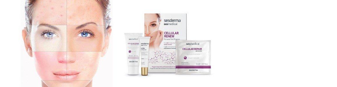 sesmedical cellular repair peeling domiciliario peles fotoenvelhecidas