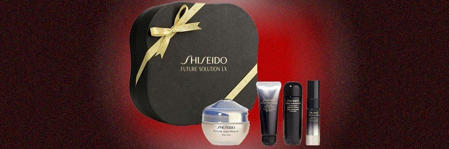 shiseido coffret future solution lx antienvelhecimento absoluto