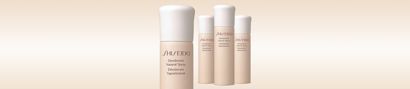 shiseido desodorizante natural spray