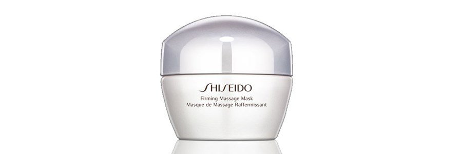 shiseido global skincare firming massage mask