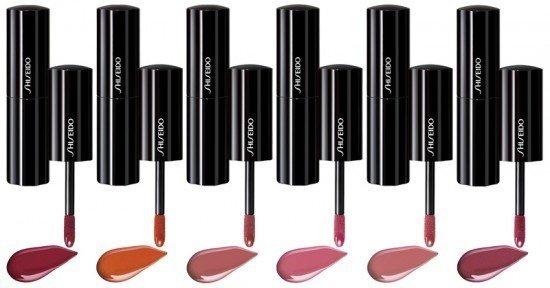 shiseido lacquer rouge batom gloss