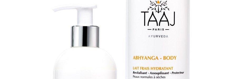 taaj abhyanga lait frais hydratant