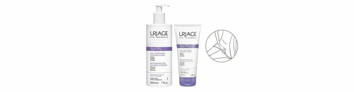 uriage gyn phy gel refrescante higiene intima