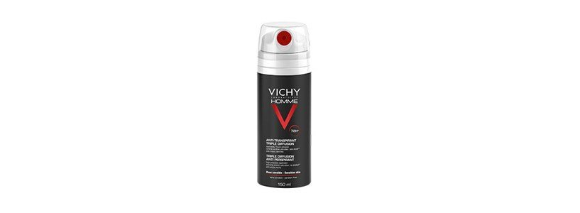 vichy homme anti transpirant triple diffusion