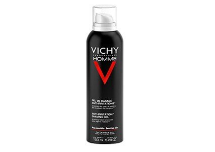 vichy homme gel barbear anti irritacoes