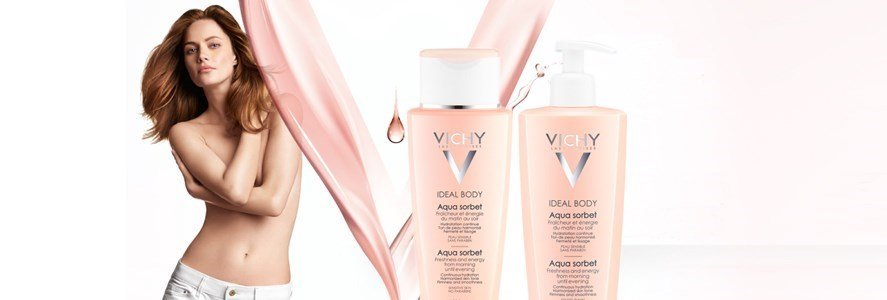 vichy ideal body aqua sorbet hidratante refrescante corpo
