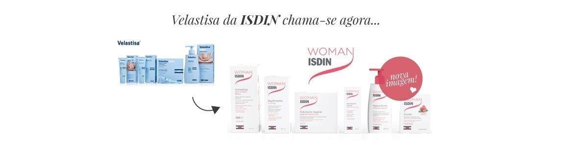 woman isdin linha produtos