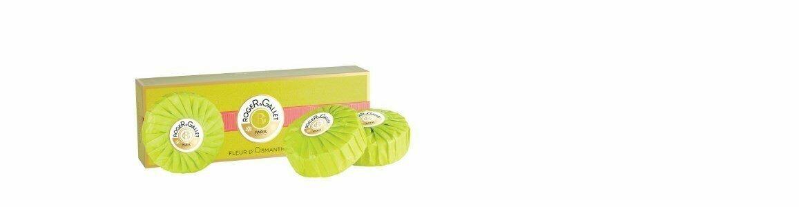roger gallet fleur osmanthus sabonetes coffret