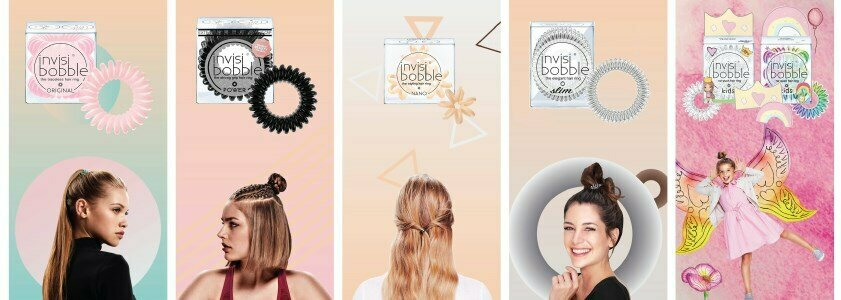 invisibobble traceless hair ring elastico cabelo