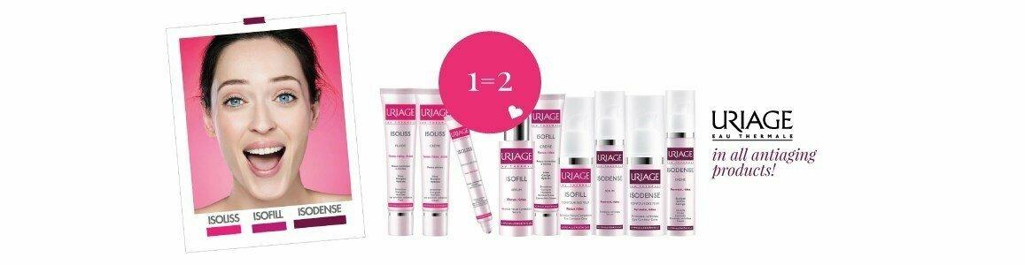 uriage 1 2 em todos os produtos antienvelhecimento en