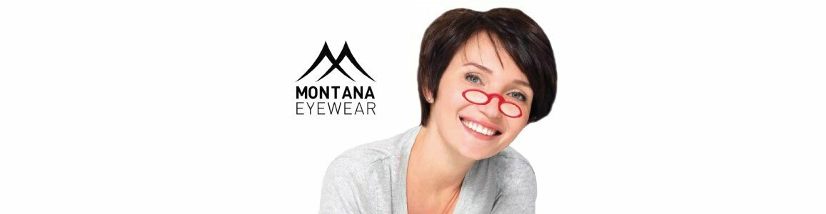 montana eyewear nose reading glasses diopter nr1a red
