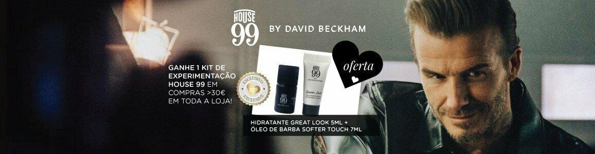 lancamento house 99 homem david beckham