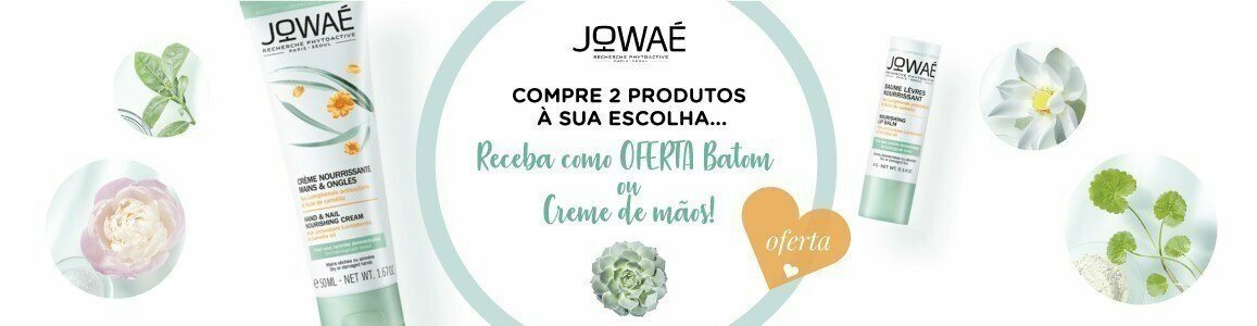 jowae campanha oferta creme maos ou batom