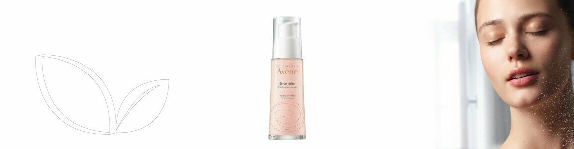 avene les essentiels facial radiance serum fatigue skin