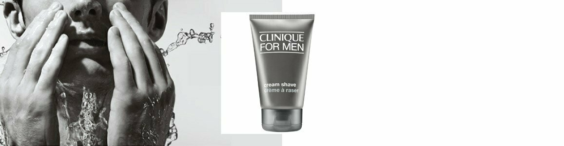 clinique men creme barbear peles secas 125ml