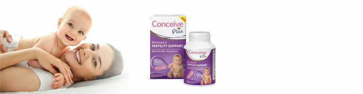 conceive plus conceive plus suplemento feminino apoio fertilidade