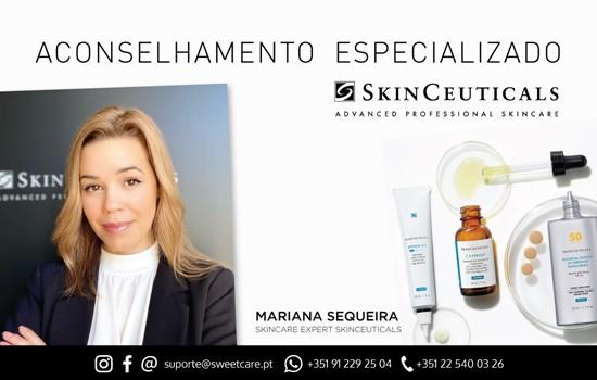 EXCLUSIVO SWEETCARE - aconselhamento especializado skinceuticals
