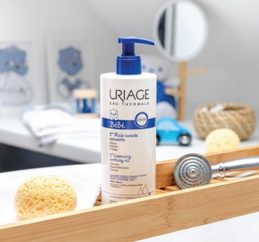 Uriage baby iere cleansing soothing oil