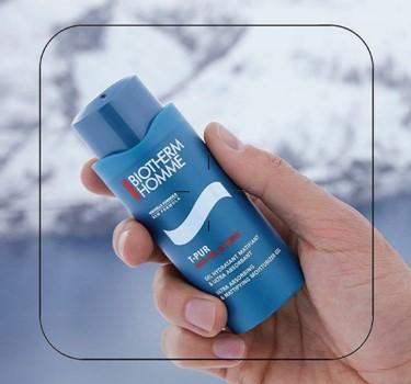 biotherme homme T-pur gel hidratante