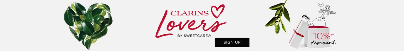 clarins lovers -10%