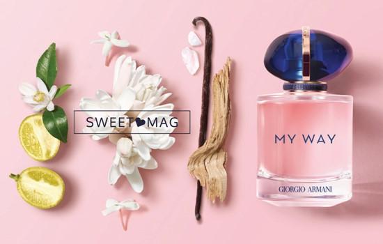 SWEET MAG: My way, a nova fragrância de giorgio armani