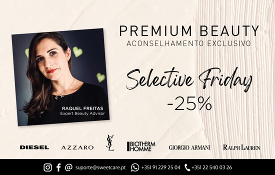 Selective Friday with beauty advisor -25% discount