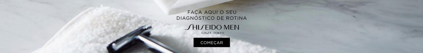 Homem shiseido diagnóstico